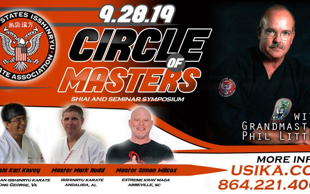 Circle of Masters 2019